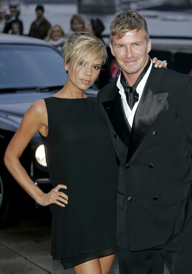 <strong>2007:</strong> Stjerneparet Victoria og David Beckham har en rekke ganger blitt utsatt for bruddrykter, men selv hevder de å være lykkeligere enn noen gang. Foto: NTB scanpix