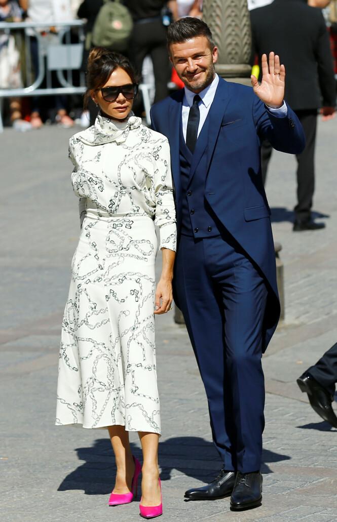 <strong>TØFFE TIDER:</strong> Victoria og David Beckham har likevel ikke lagt skjul på at de har vært gjennom tøffe tider i ekteskapet. Foto: NTB scanpix