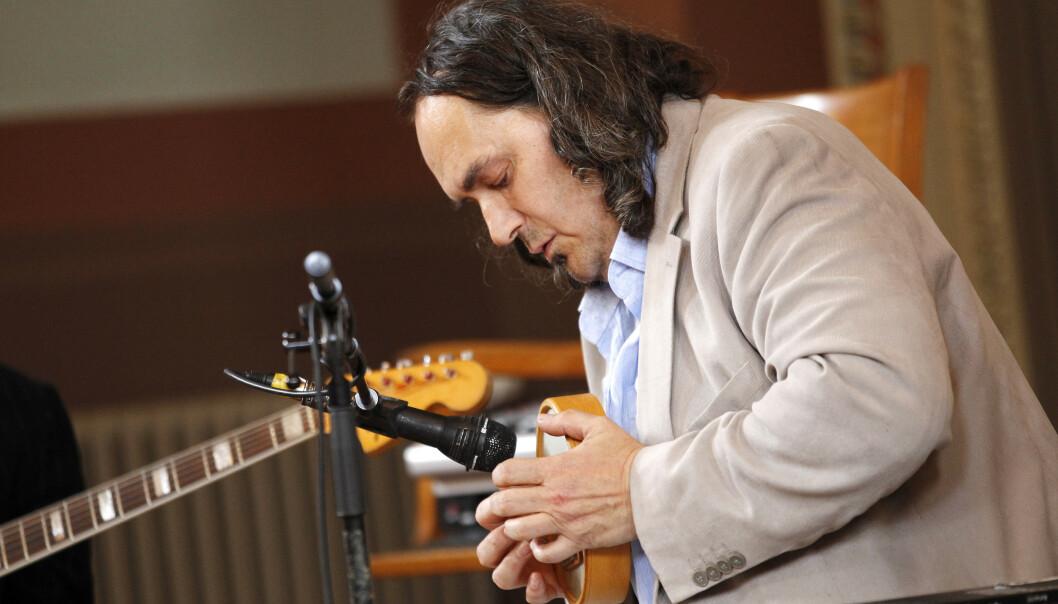 Trommevirtuosen Paolo Vinaccia er død, 65 år gammel. Foto: Erlend Aas / NTB scanpix.
