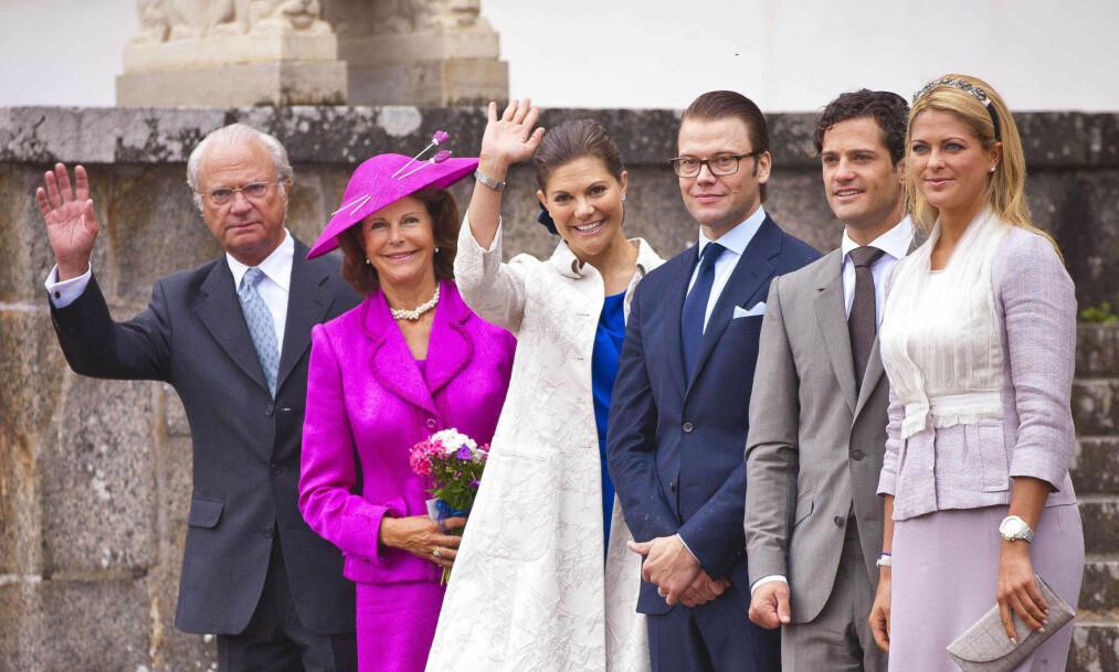 I SORG: Sveriges kongepar mistet sin gode venn Anki Wallenberg i juni. Nå har det kommet nye detaljer om dødsfallet til den svenske kongefamiliens nære venn. Foto. NTB Scanpix