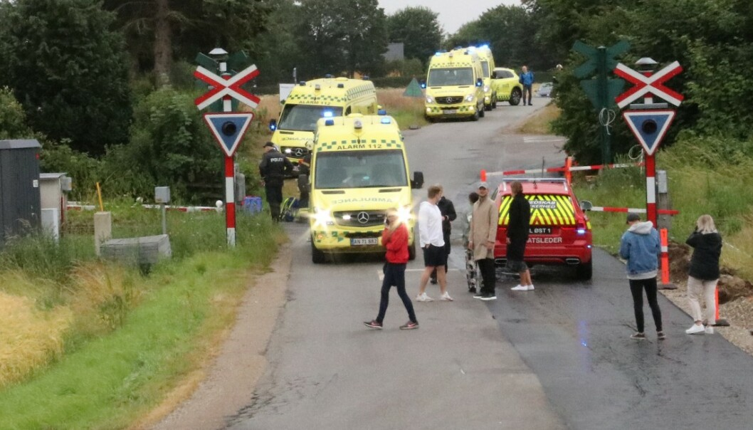 To nordmenn mistet livet i trafikkulykke på Midtjylland