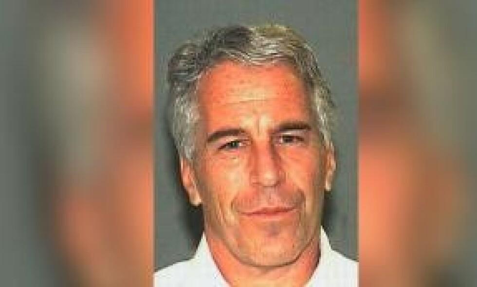 SIKTET: Den amerikanske milliardæren og finansmannen Jeffrey Epstein er pågrepet i New York, siktet for menneskehandel og seksuell utnytting. Foto: Palm Beach Sheriff`s Office