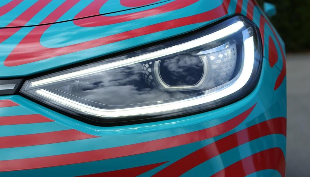 """<strong>FOD:</strong> Bilen for støtte for """"funtions on demand"""", der du kan låse opp funksjoner mot et gebyr, deriblant lysfunksjoner. Foto: Martin Meiners"""