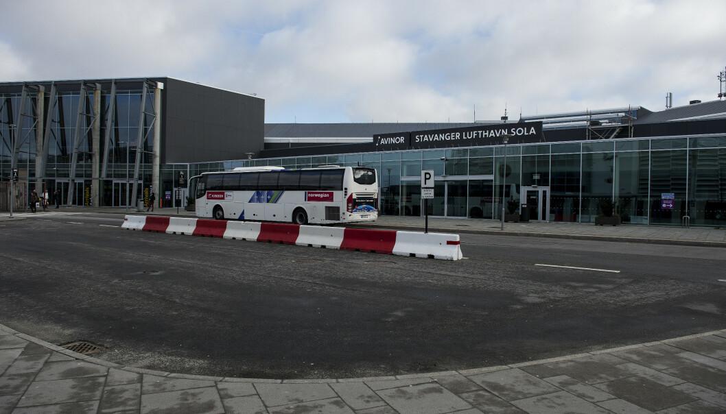 Det var på Stavanger Lufthavn Sola det gikk så fryktelig galt for kvinnen i slutten 60-årene. Carina Johansen / NTB scanpix