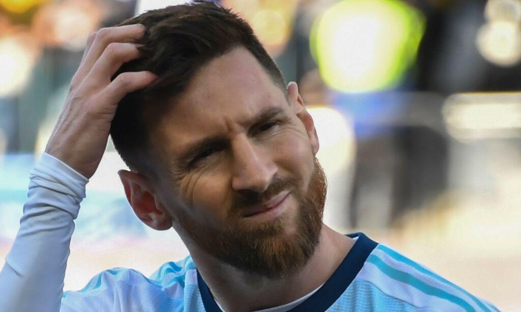 image: Brasils trener kritiserer Messi