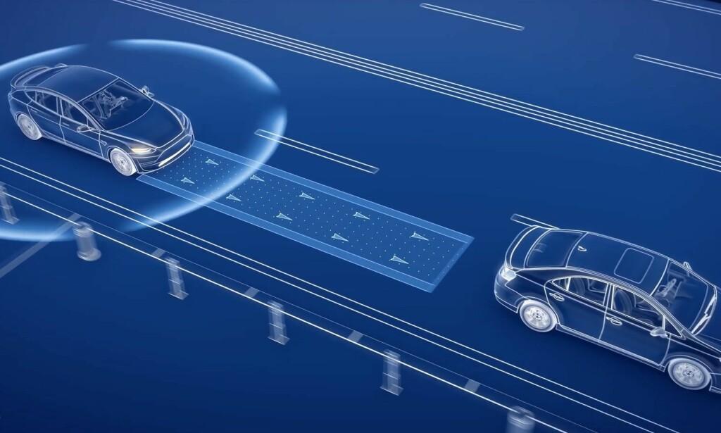 KOMMUNISERER MED HVERANDRE: Den korte responstiden gjør at biler som kommuniserer med hverandre over 5G, aldri vil kollidere, håper ekspertene. Illustrasjon: Inseego