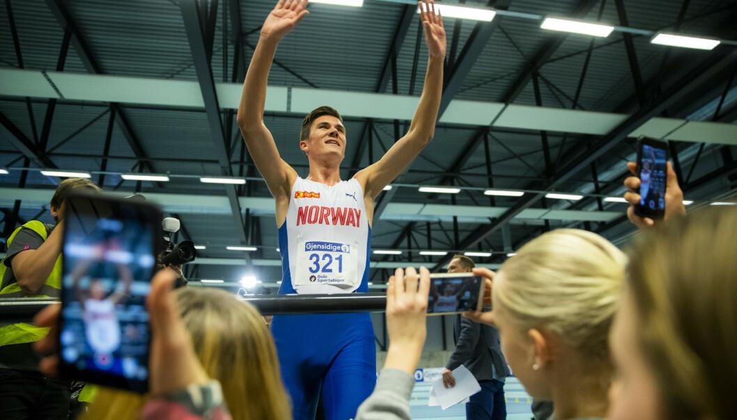 Jakob Ingebrigtsen fikk U20-verdensrekord godkjent