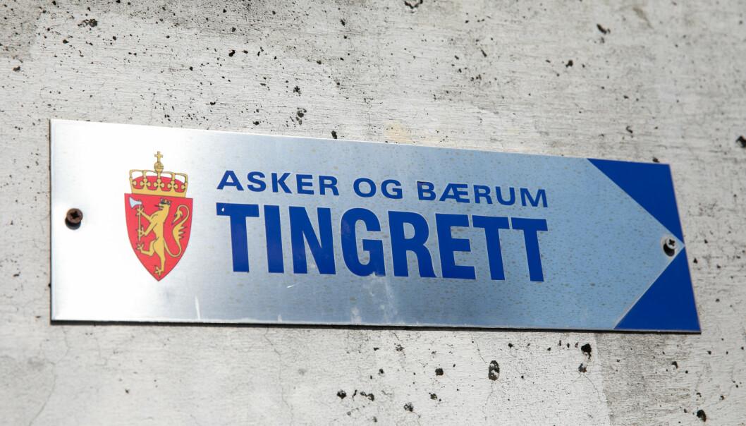 Korrupsjonsdommen falt i Asker og Bærum tingrett. Foto: Audun Braastad / NTB scanpix