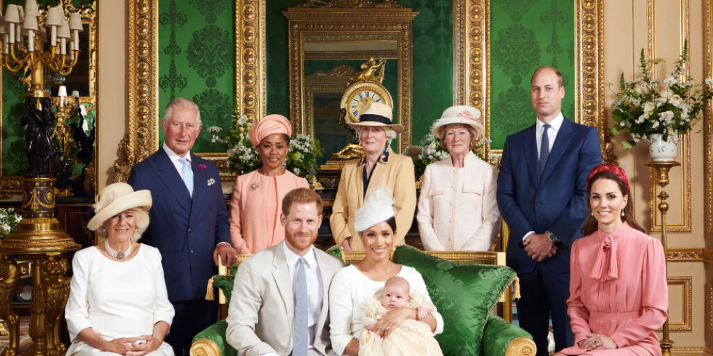image: Slik hyllet hun prinsesse Diana under Archies dåp