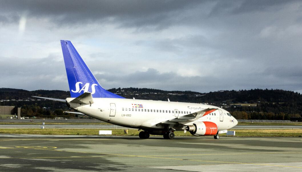 En kabinansatt ble tatt med promille på et SAS-fly som skulle fra Sola til København. Illustrasjonsfoto: Gorm Kallestad / NTB scanpix