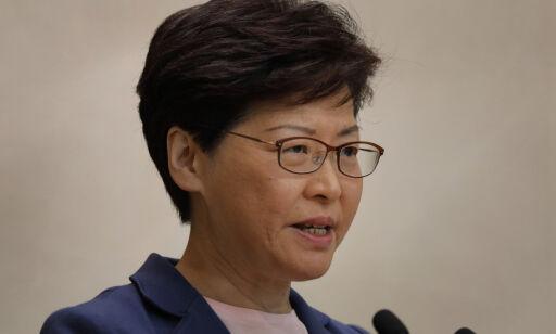 image: Hongkong-leder vil legge utleveringslov død – blir kalt løgner