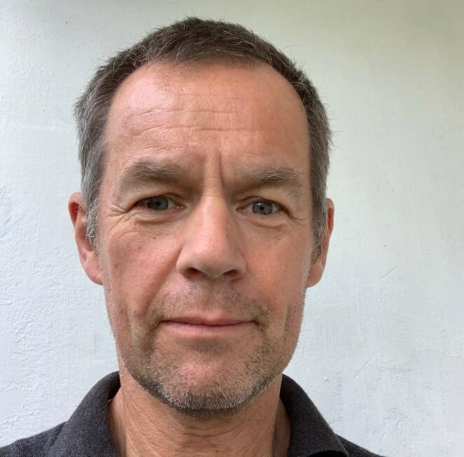 <strong>HELDIG:</strong> Morten Lund-Johansen forteller at George var ufattelig heldig med hvor kulen gikk i hjernen. Foto: Privat.