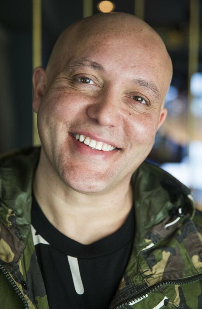 <strong>PENGEGLIS:</strong> René Dif har all grunn til å smile, nå som økonomien endelig er på rett kjøl igjen. Her er han fotografert i 2017, i forbindelse med comeback-turneen. Foto: NTB scanpix