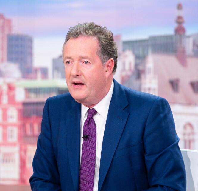 RASER: TV-profilen Piers Morgan retter sterk kritikk mot hertuginne Meghan. Foto: NTB Scanpix