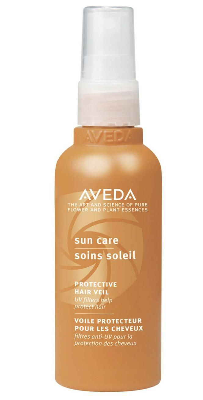 UV-filter og falmebeskyttende ingredienser (kr 245, Aveda, Sun Care Protective Hair).