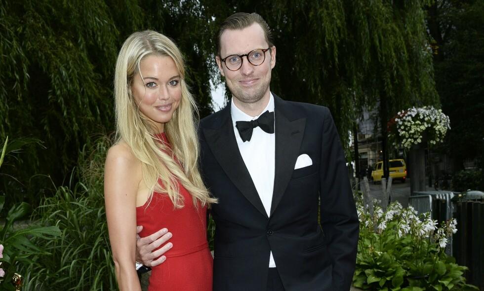 SKILT: I 2018 ble Nils Tham skilt fra Clara Hellencreutz (34). Nå venter han barn med den 27 år gamle skuespilleren Felice Jankell. Foto: Karin Törnblom / IBL / TT / NTB Scanpix