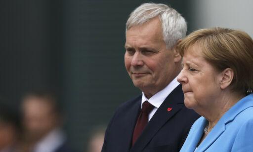 image: Merkel sett skjelvende for tredje gang