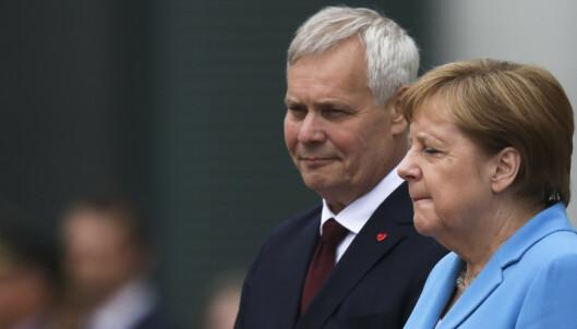 Merkel sett skjelvende for tredje gang på en måned