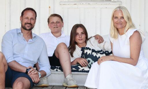 image: Sørlandssommer for kronprinsfamilien