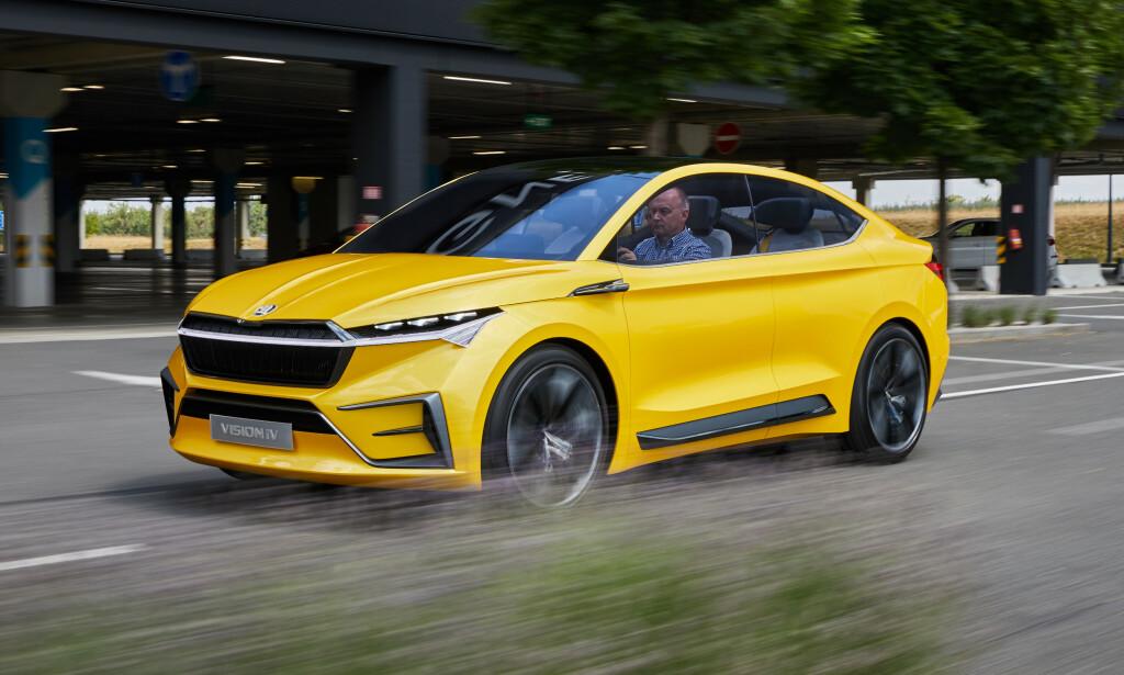 FREKKAS: Bilen har et kraftig designuttrykk, og løftene er at den skal bli tilsvarende.