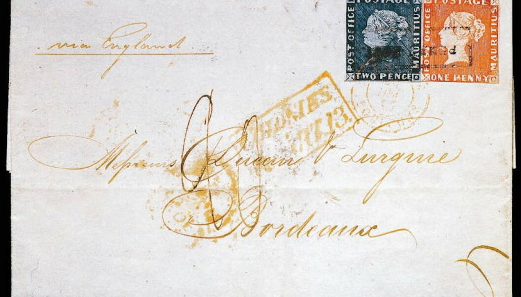 Dette brevet er verdt flere millioner kroner