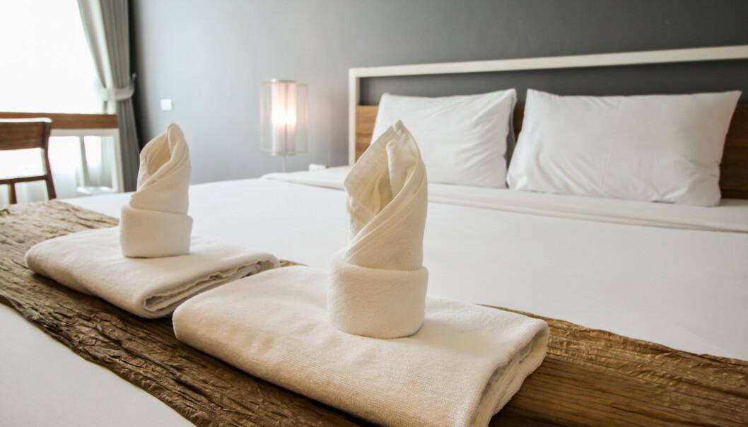 HOTELL: Det er en rekke «uvaner» hotellgjester har, som det ville vært til stor hjelp for de ansatte om de sluttet med. FOTO: NTB Scanpix