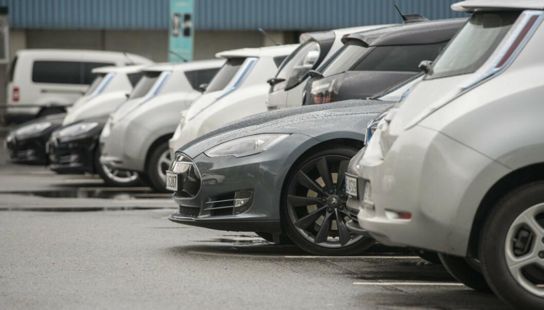 FORBIGÅTT: Norge er slått av Tyskland på antall solgte elbiler så langt i år. Foto: NTB Scanpix.
