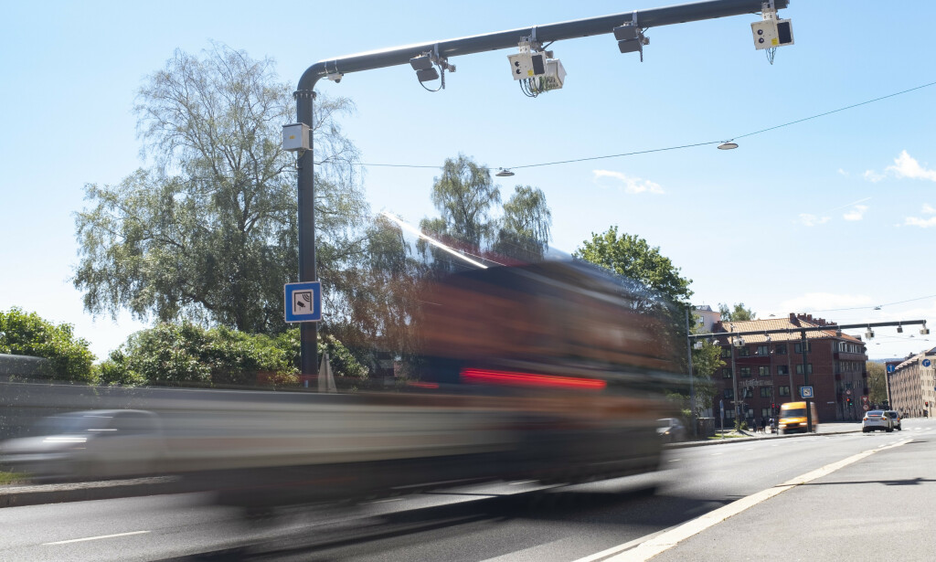 NEW TREE: A completely new charging system was introduced in Oslo this year. The collection of tolls is allocated to three boom rings with a total of 83 toll stations. Photograph: Frederick Hagen / NTB scanpix
