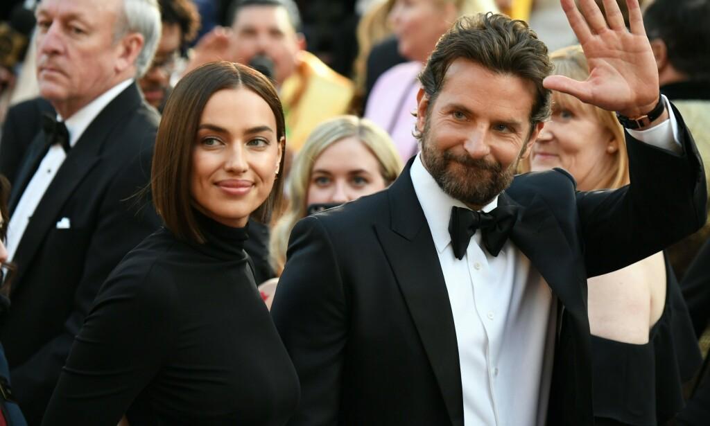 STJERNEPAR: Modell Irina Shayk og Bradley Cooper gikk hver til sitt etter fire år som kjærester. Bruddet er blitt hyppig omtalt selv om ingen av partene har bekreftet at det faktisk er over. Nå har modellen gitt sitt første intervju etter det angivelige bruddet, og etter uttalelsene henne så dømme kan det se ut til at hun har kommet seg videre. Foto: NTB Scanpix