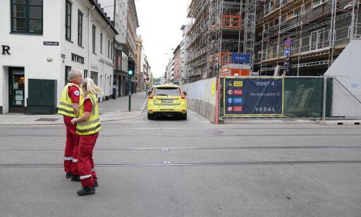 image: Mann pågrepet etter skyting i Oslo sentrum