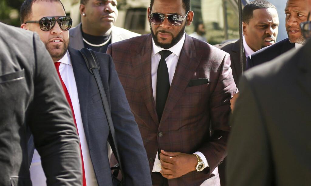 R. Kelly da han møtte i retten i juni. Foto: Amr Alfiky / AP / NTB scanpix