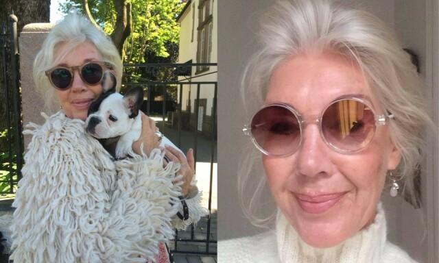 1b1fbfd25 Naturlig grått og hvitt hår er nå moderne - Det er på høy tid at vi ...