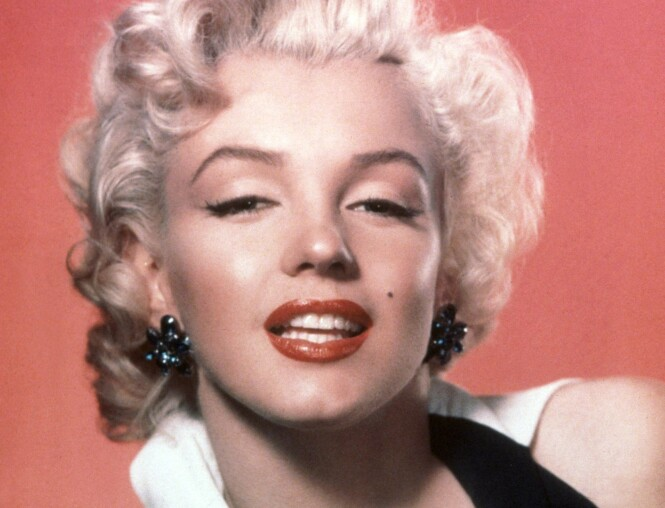 Marilyn Monroe med sin ikoniske 50-tallssminke. Foto: Snap/REX/NTB Scanpix.