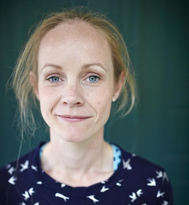 ALDRI GLEMT: I dag er Sandra Victoria bosatt i Sarpsborg med mann og barn. Hun sier til KK at hun aldri glemte gutten som kunne ha blitt en del av familien hennes. FOTO: Geir Dokken