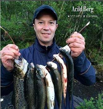 <strong>FELLES SORG:</strong> Arild Berg gikk bort 22. juni. Berg-familien,  Glimt-familien, Bodø og fotball-Norge sørget. Dette er forsiden på  begravelsesheftet.