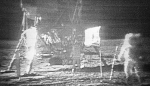 Det er 50 år siden månelandingen, men NRK har slettet opptaket fra sendingen