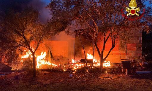 image: Flere skogbranner i Italia – én død