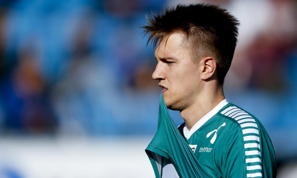 KEEPERTABBE: Tromsøs keeper Jacob Karlstrøm fortviler etter 3-1 målet. Foto: Jan Kåre Ness / NTB scanpix