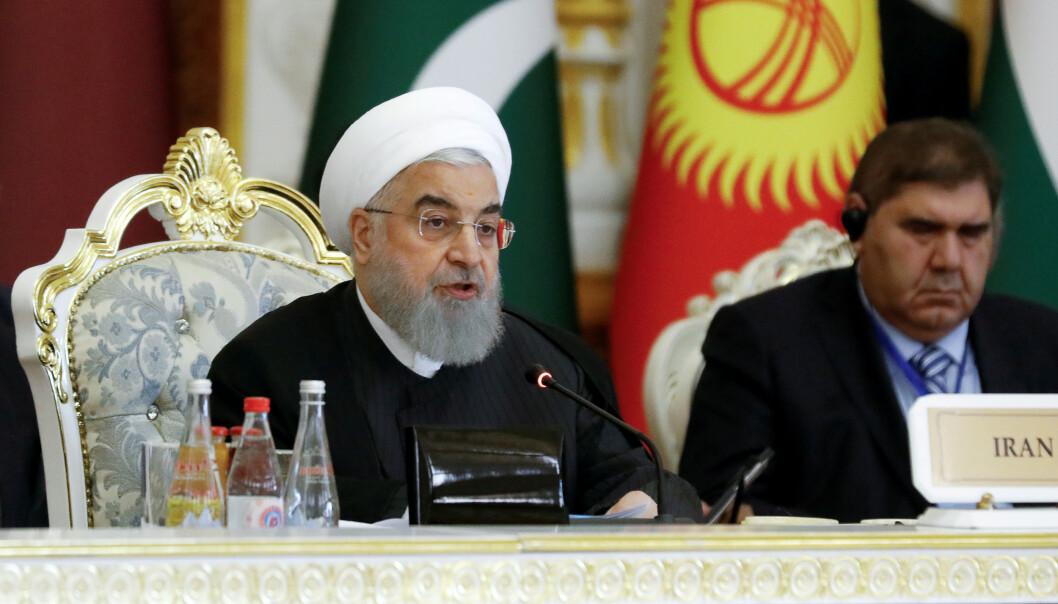 Irans president rede til samtaler med USA