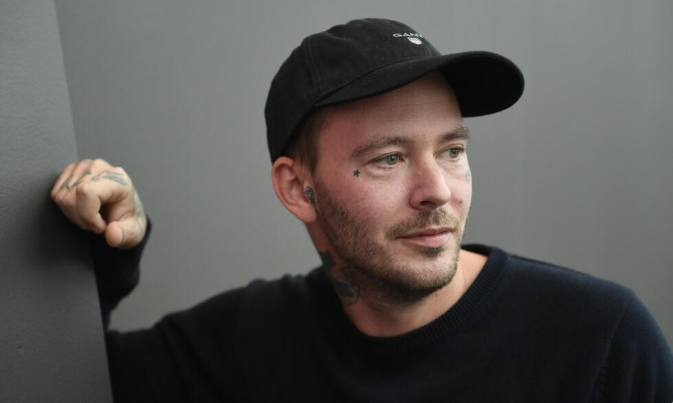 TØFF FORTID: Youtube-profil og influenser Joakim Lundell (33) snakker ut om den tøffe fortiden med rusproblemer, diagnoser og usikkerhet. Foto: NTB Scanpix