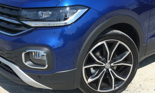 image: VW T-Cross: Kulere men mindre