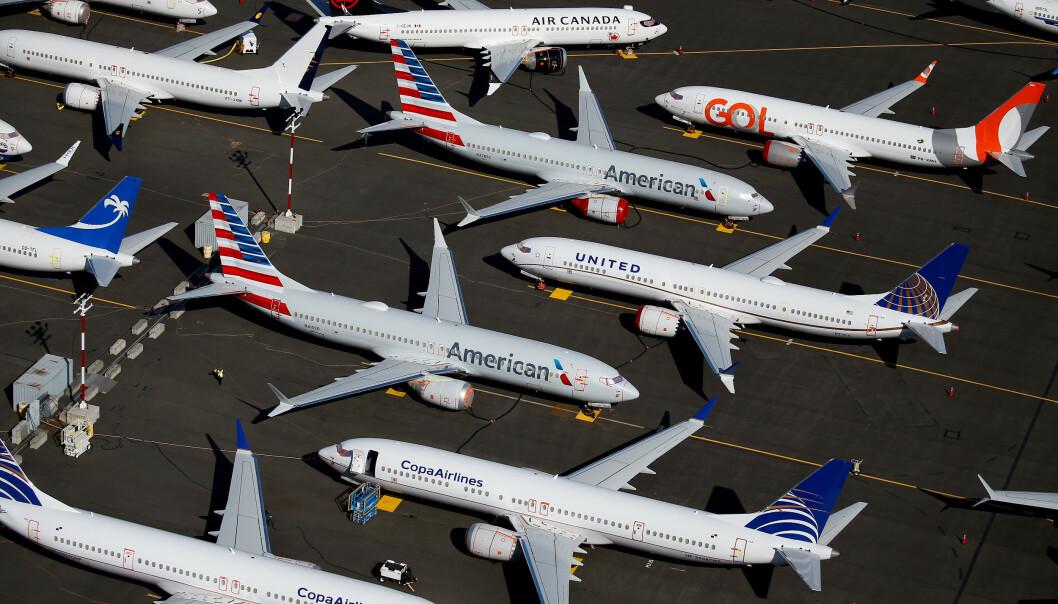 ENDRER NAVN: Ifølge flere medier endres navnet på 737 Max-flyene. Foto: Lindsey Wasson / Reuters / NTB Scanpix