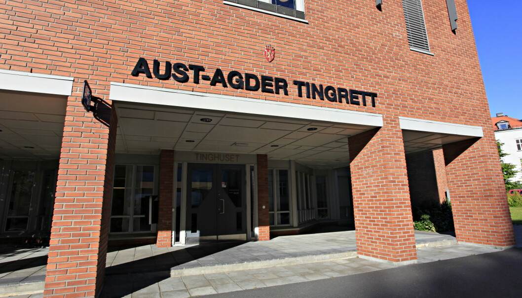 Saken gikk for Aust-Agder tingrett. Foto: Tor Erik Schrøder / NTB scanpix