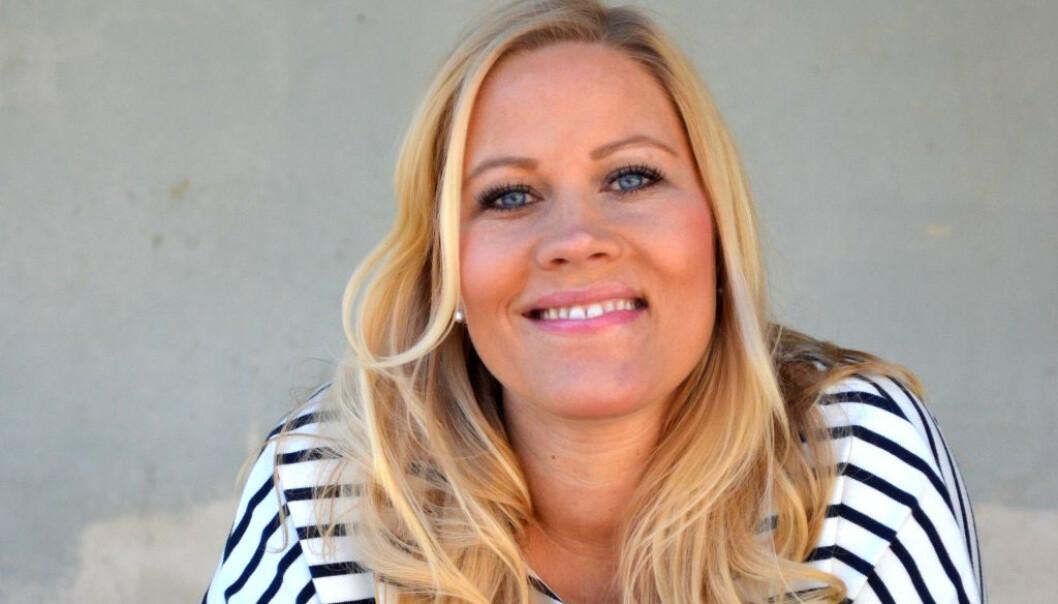 Linn Doherty (43) valgte drømmelivet med full frihet og mer tid til familien, fremfor et sikkert arbeid med økonomisk trygghet. Foto: Trude Helén Hole