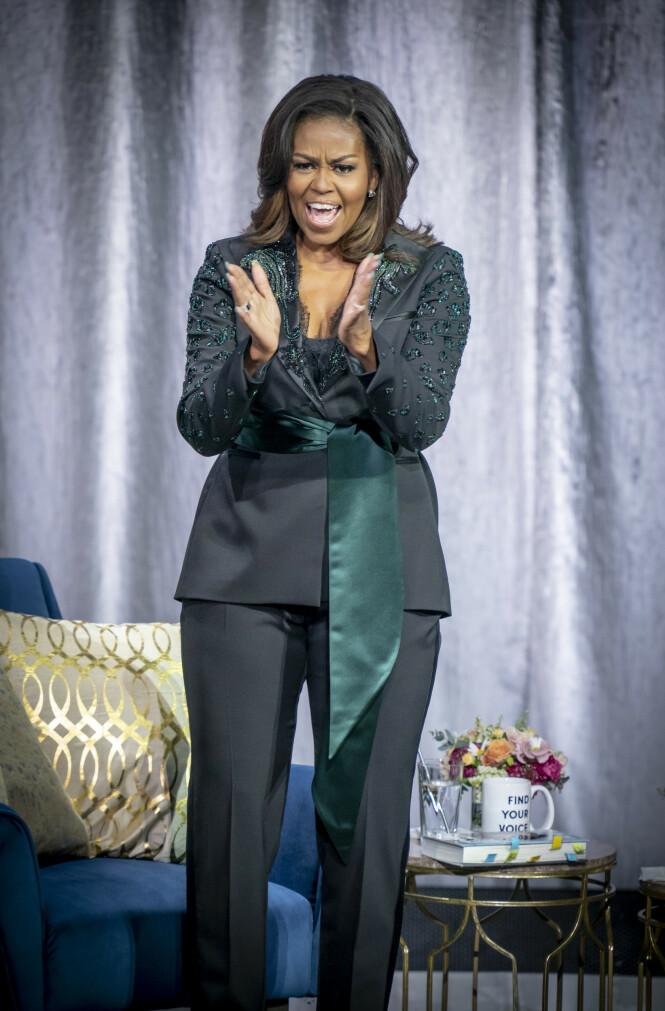 Michelle Obama. Foto: Scanpix