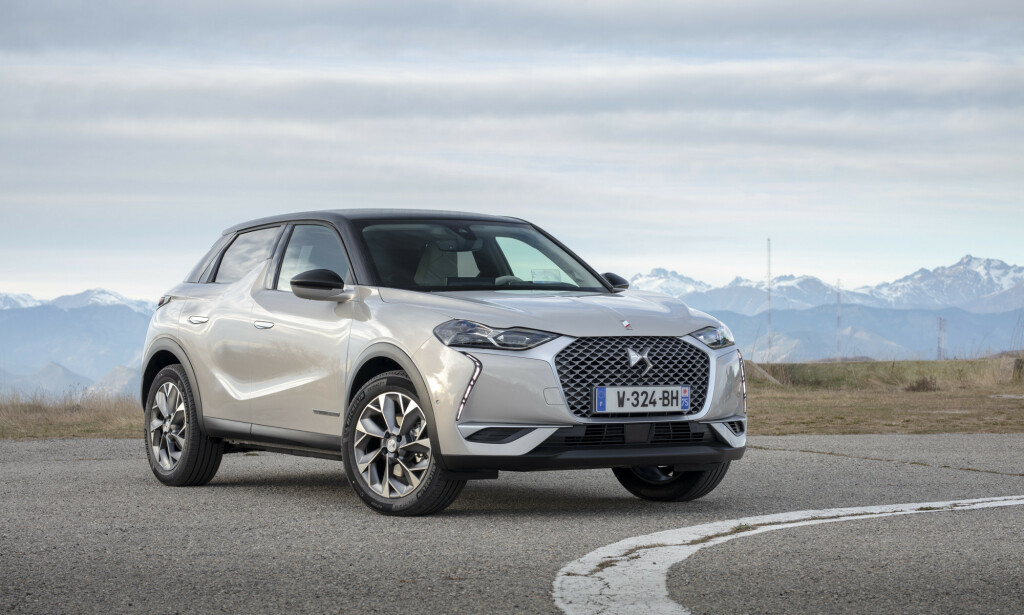 SPENNENDE ELBIL: DS3 Crossback. Foto: DS
