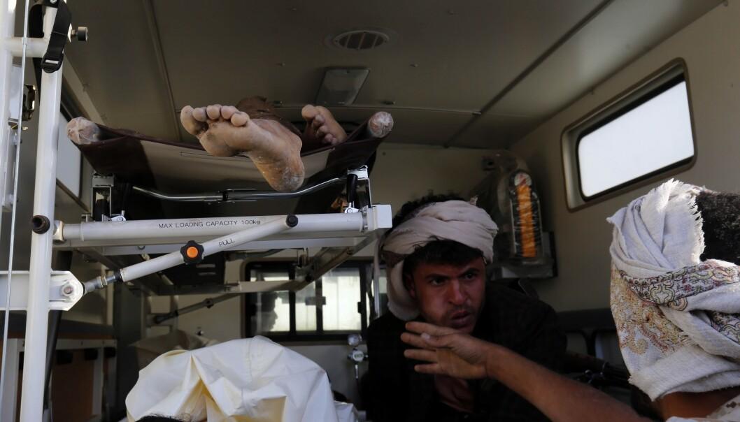 Barnesoldater på begge sider i Jemen