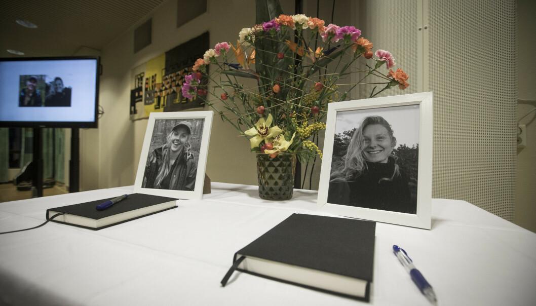 Dommen mot dem som er tiltalt for drapene på Maren Ueland og Louisa Vesterager Jespersen, kan komme torsdag. Foto: Trond Reidar Teigen / NTB scanpix