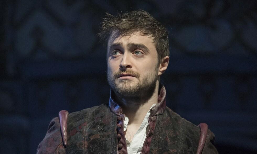 GRAVER I FORTIDEN: Skuespiller Daniel Radcliffe blir bedre kjent med familiehistorien i det britiske TV-programmet «Who Do You Think You Are?». Her avbildet i forbindelse med et teaterstykke. Foto: NTB Scanpix