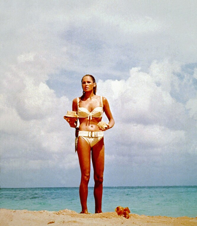 1962: Ursula Andress. Foto: Scanpix